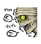 毎日ゾンビ3【仮装で火葬編】(個別スタンプ:33)