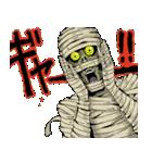毎日ゾンビ3【仮装で火葬編】(個別スタンプ:34)