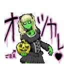 毎日ゾンビ3【仮装で火葬編】(個別スタンプ:40)