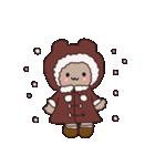 もふもふわっふるくん冬の日常編(個別スタンプ:01)