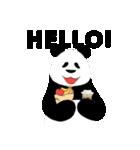 ぱんださん*゜英語ver.(個別スタンプ:03)