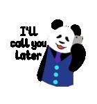 ぱんださん*゜英語ver.(個別スタンプ:14)