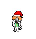 クリスマス年末年始のあのねこ(個別スタンプ:04)