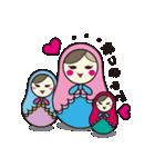喋るマトリョーシカ【関西弁】(個別スタンプ:01)