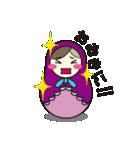 喋るマトリョーシカ【関西弁】(個別スタンプ:05)