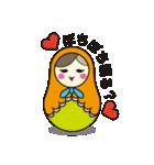 喋るマトリョーシカ【関西弁】(個別スタンプ:06)