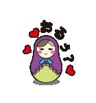 喋るマトリョーシカ【関西弁】(個別スタンプ:09)