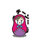 喋るマトリョーシカ【関西弁】(個別スタンプ:18)