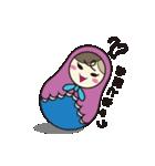 喋るマトリョーシカ【関西弁】(個別スタンプ:22)
