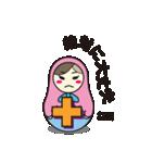 喋るマトリョーシカ【関西弁】(個別スタンプ:23)