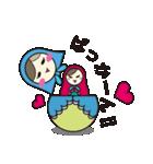 喋るマトリョーシカ【関西弁】(個別スタンプ:25)