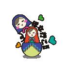 喋るマトリョーシカ【関西弁】(個別スタンプ:28)