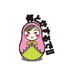 喋るマトリョーシカ【関西弁】(個別スタンプ:31)
