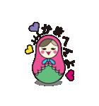 喋るマトリョーシカ【関西弁】(個別スタンプ:34)