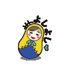 喋るマトリョーシカ【関西弁】(個別スタンプ:35)