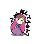 喋るマトリョーシカ【関西弁】(個別スタンプ:37)