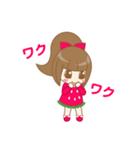 いちごちゃん & うさぎちゃん(個別スタンプ:02)