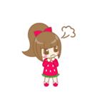 いちごちゃん & うさぎちゃん(個別スタンプ:03)