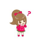 いちごちゃん & うさぎちゃん(個別スタンプ:04)