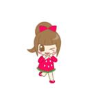 いちごちゃん & うさぎちゃん(個別スタンプ:06)