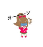 いちごちゃん & うさぎちゃん(個別スタンプ:10)