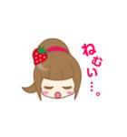 いちごちゃん & うさぎちゃん(個別スタンプ:12)
