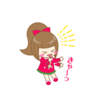 いちごちゃん & うさぎちゃん(個別スタンプ:14)