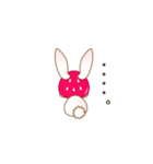 いちごちゃん & うさぎちゃん(個別スタンプ:18)