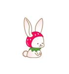 いちごちゃん & うさぎちゃん(個別スタンプ:20)