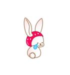 いちごちゃん & うさぎちゃん(個別スタンプ:22)
