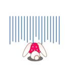 いちごちゃん & うさぎちゃん(個別スタンプ:24)