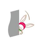 いちごちゃん & うさぎちゃん(個別スタンプ:26)