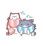 ネコとアルパカのやさしさスタンプ・冬(個別スタンプ:03)