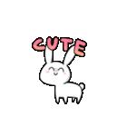 かわいいウサちゃん(個別スタンプ:5)