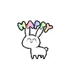 かわいいウサちゃん(個別スタンプ:07)