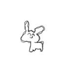 かわいいウサちゃん(個別スタンプ:39)