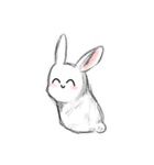 かわいいウサちゃん(個別スタンプ:40)