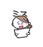 色白OL【日常】(個別スタンプ:06)