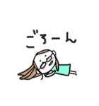 色白OL【日常】(個別スタンプ:13)