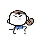 色白OL【日常】(個別スタンプ:16)
