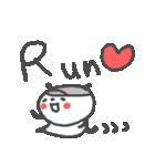 マラソン大好きパンダ!(個別スタンプ:01)