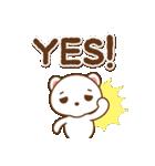 クマのミンさんの日常【冬】(個別スタンプ:06)
