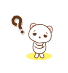 クマのミンさんの日常【冬】(個別スタンプ:10)