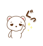 クマのミンさんの日常【冬】(個別スタンプ:12)