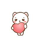 クマのミンさんの日常【冬】(個別スタンプ:22)