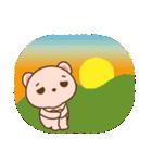 クマのミンさんの日常【冬】(個別スタンプ:26)