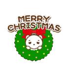 クマのミンさんの日常【冬】(個別スタンプ:33)