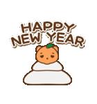 クマのミンさんの日常【冬】(個別スタンプ:39)