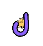 ぶーさんのアルファベット(個別スタンプ:10)