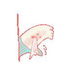 脇が甘いスタンプ(個別スタンプ:08)